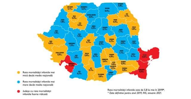 Rata mortalității infantile e îngrijorătoare în Tulcea. Măsuri de intervenție