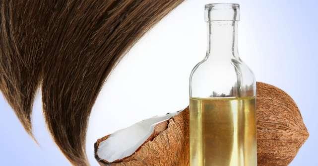 Masca de par cu ulei de cocos: hidratare garantata!