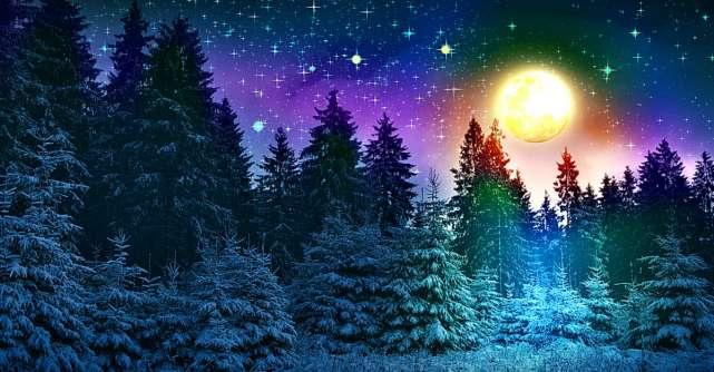Ultima Luna Plina din acest an de pe 12 decembrie deschide portalul vibratiilor bune si vindecarii sufletului