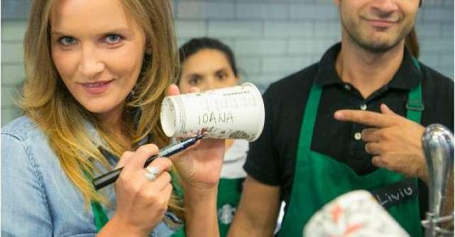 Vedetele sarbatoresc reintalnirea cu Pumpkin Spice Latte la Starbucks Cotroceni