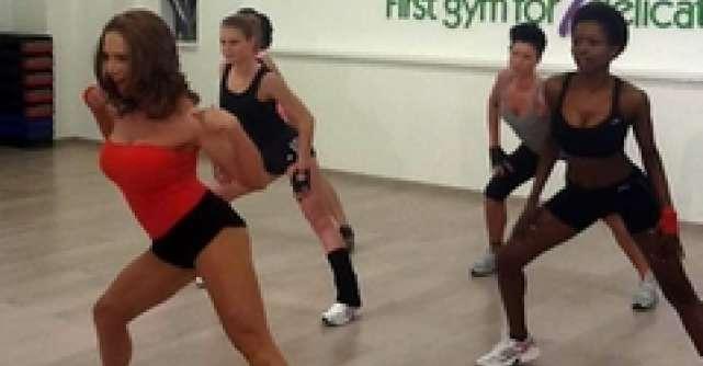 Video: Ce distractie este la orele de fitness ale lui Cori Gramescu!