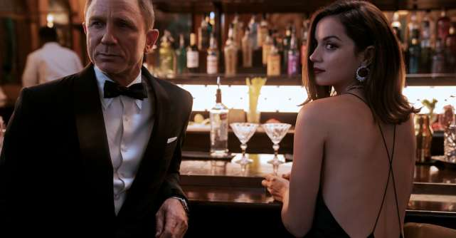 No Time to Die / Nu e vreme de murit:James Bond revine pe marele ecran într-o super acțiune