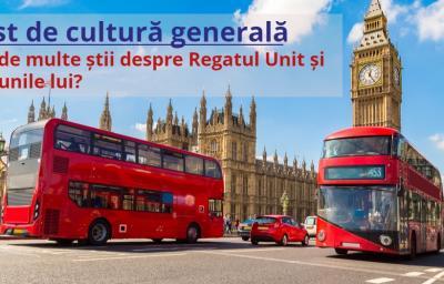 Test de cultura generala: Cat de multe stii despre Regatul Unit si minunile lui?