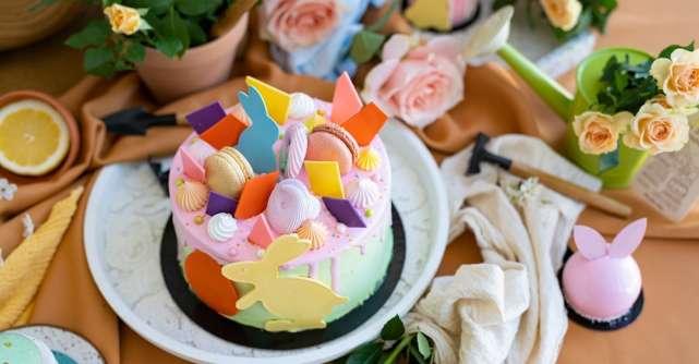"""Grace Couture Cakeslansează colecția """"Easter Hope"""" - deserturi couture pentru Paște"""