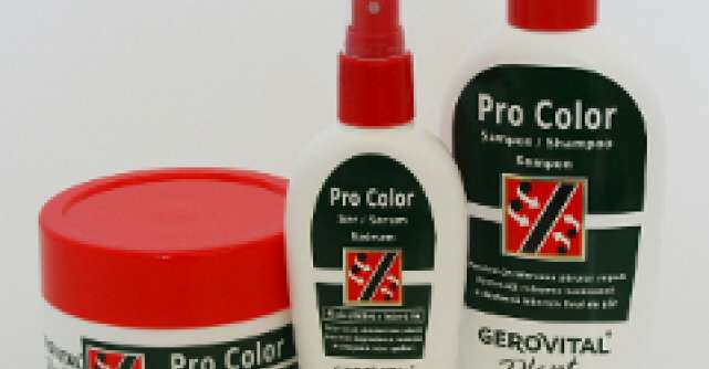 Ingrijire, culoare stralucitoare si par sanatos cu Gerovital Plant Tratament Pro Color