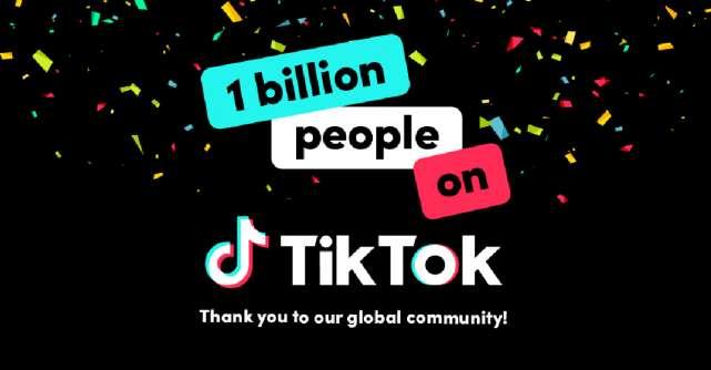 Peste 1 miliard de oameni folosesc TikTok