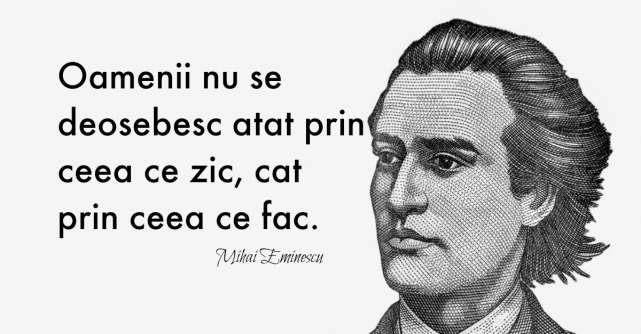 Nouăsprezece citate despre viață și iubire de la Mihai Eminescu