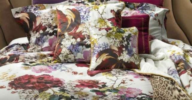 O primavara vibranta in colectiile Roberto Cavalli Home Luxury Tableware si Linen