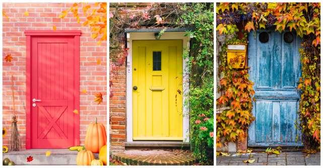 Alege o ușă de toamnă și află ce ți-a pregătit Universul pentru următoarele luni
