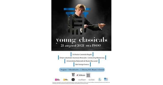 Concert extraordinar Young Classicals laUniversitatea Națională de Muzică Bucureștipe data de 21 august 2021!