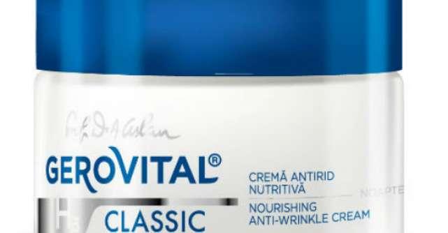 Gerovital H3, un nou concept anti-age inovator de la Farmec