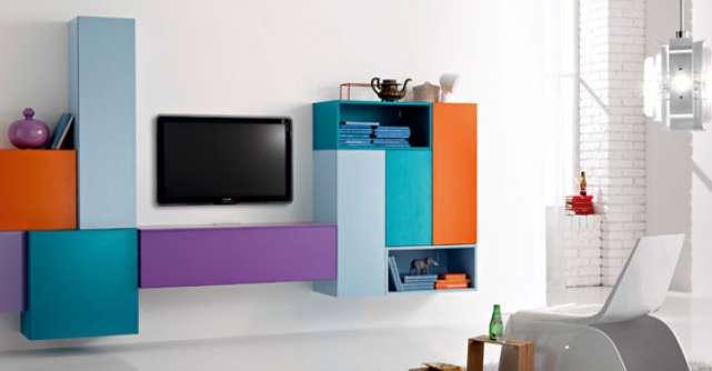Trend alert de primavara: piese de mobilier in culori fresh