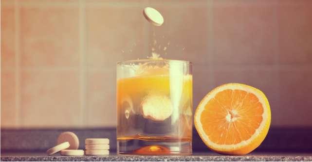 Vitamina C: ajuta la formarea si mentinerea oaselor, a pielii si a vaselor de sange
