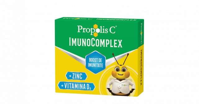 Oferă un boost imunității tale cu Propolis C® ImunoComplex