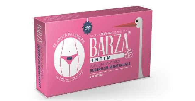 BARZA lansează plasturii împotriva durerilor menstruale!