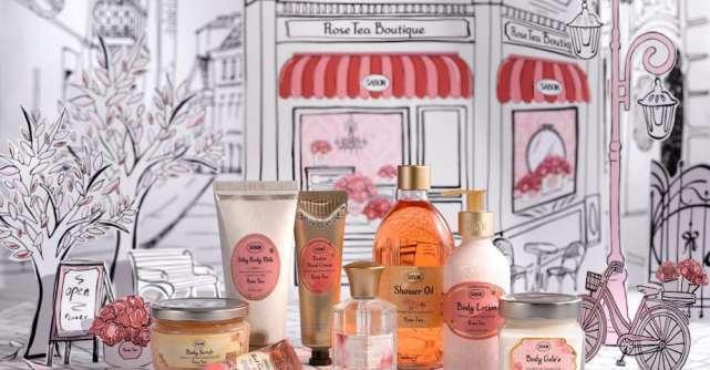 Sabon îți deschide porțile către Rose Tea Boutique!