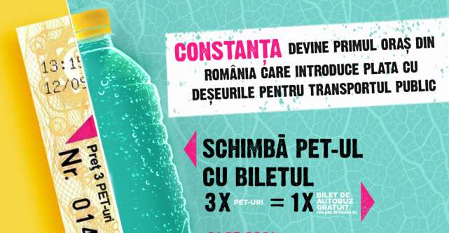 Constanța devine primul oraş din România care introduce plata cu deşeurile pentru transportul public
