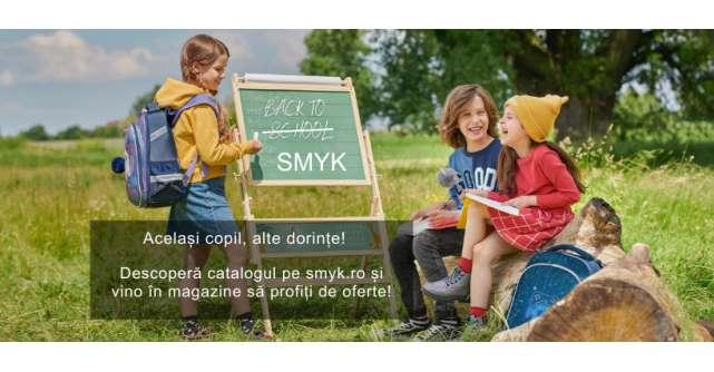 SMYK All for Kids dă startul pregătirilor pentru școală