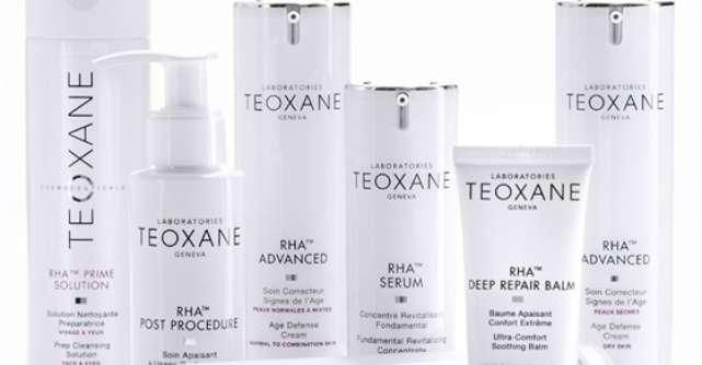 Cosmeceuticele Teoxane, complementare gamei Teosyal, tratamente intensive de redensificare a pielii
