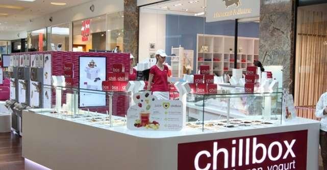 Chillbox Greek Frozen Yogurt se lanseaza in Romania