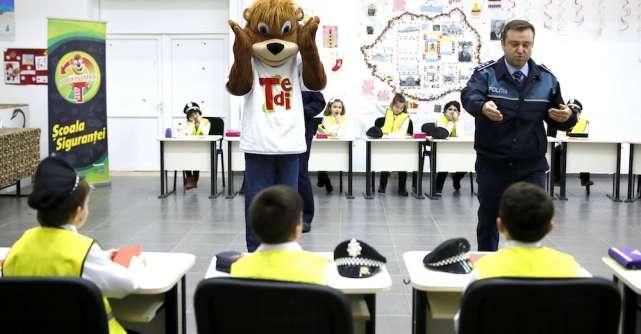 Clopoțelul sună pentru al 4-lea an consecutiv la Școala siguranței Tedi!