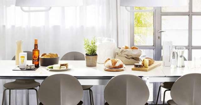 Tendinte: Mese si scaune pentru bucatarie