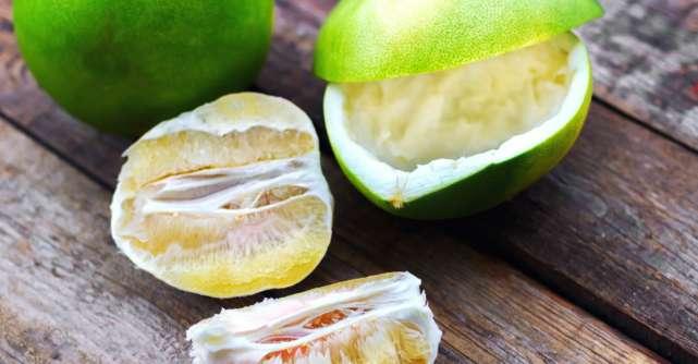 Despre pomelo. Care sunt beneficiile acestui fruct?
