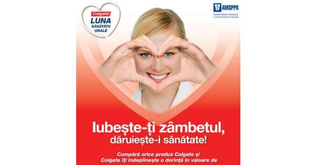(P) Colgate marcheaza Ziua Mondiala a Igienei Orale