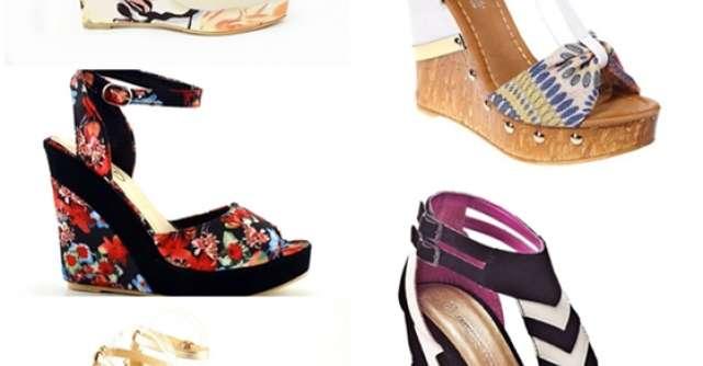 Sandale cu platforma pentru vara 2013
