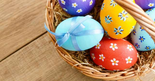 Oua de Paste: 6 metode inventive de a decora ouale