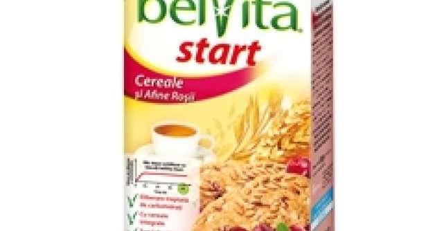 Un nou sortiment de biscuiti deliciosi pentru micul dejun: belVita Start cu Cereale si Afine Rosii