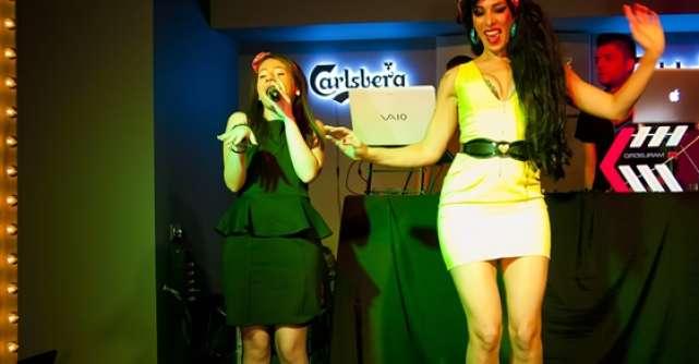 Nicole Cherry si Merante Tamar pe aceeasi scena la deschiderea oficiala  The Address Club & Lounge
