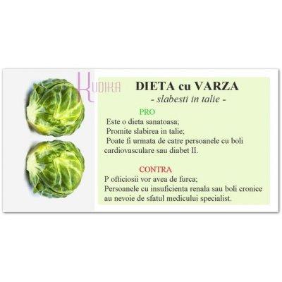 Dieta cu VARZA: te ajuta sa slabesti in TALIE