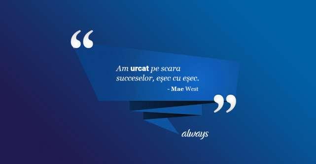 Scoala increderii Always #CaOFata: 'Esecul nu este capatul drumului ci doar o etapa'