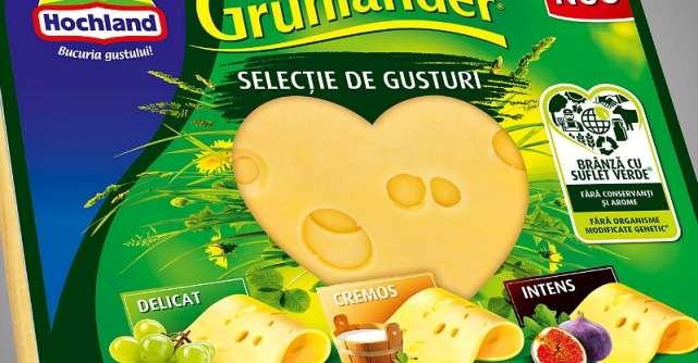 Hochland lansează un nou brand: Grünländer, brânza cu suflet verde