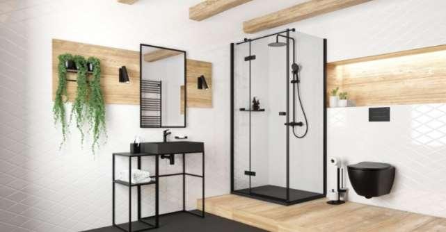Obiectele negre pentru baie - Un nou trend pentru o baie rafinată