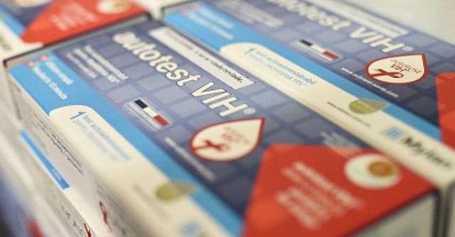 Test autoadministrabil pentru depistarea HIV pe baza unei picaturi de sange, disponibil in farmaciile din Romania