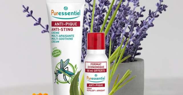 Protejează-ți familia eficient și natural de țânțari sau căpușe cu Puressentiel