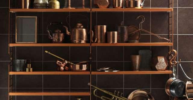 20 de accesorii si piese de mobilier pentru un interior industrial