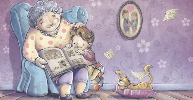 adevărată legătură cu bunicile