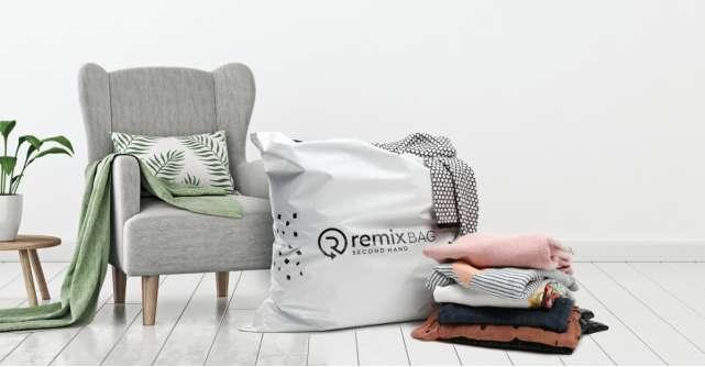 Acordă a doua șansă hainelor noi sau aproape noi, prin serviciul Vinde către Remix