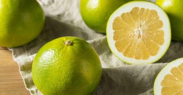 Pomelo, un fruct minune. Iata cat de bun este pentru sanatate