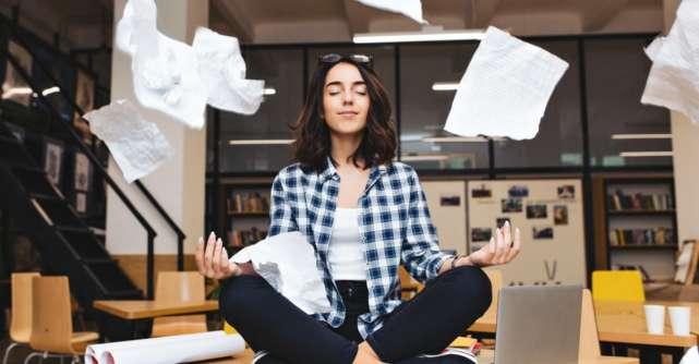 Cum sa faci sa te calmezi? Meditatie pentru stapanirea nervilor