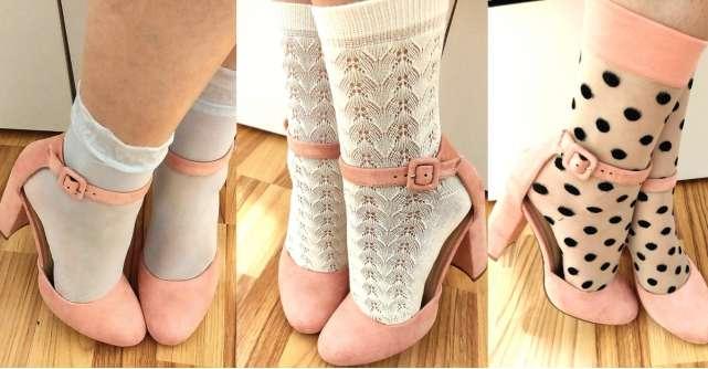 Cele mai frumoase șosete lycra cu model pe care le-am purtat!