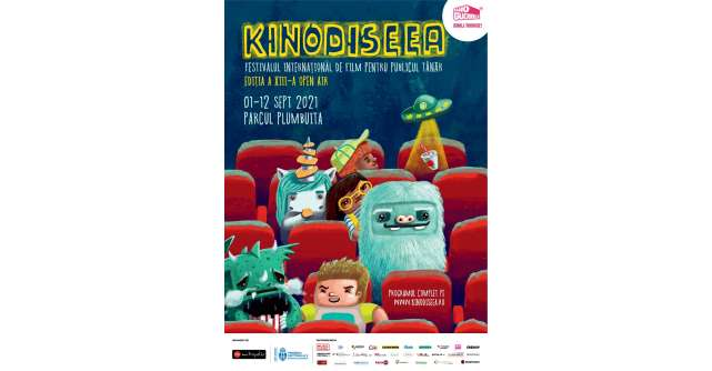 KINOdiseea – Festivalul Internațional de Film pentru Publicul Tânăr (open air) aduce 7 filme și activități pentru copii