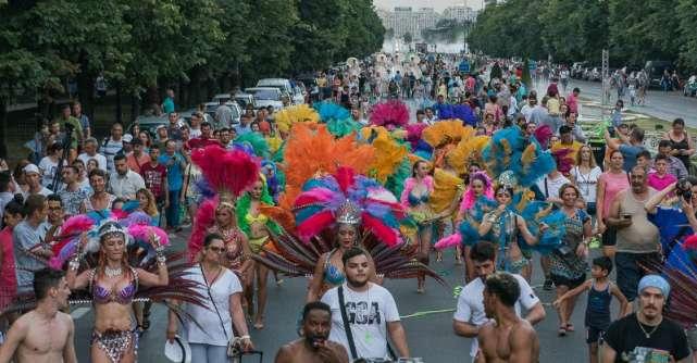 Peste 40.000 de bucuresteni si turisti pe strazile capitalei la B-FIT in the Street