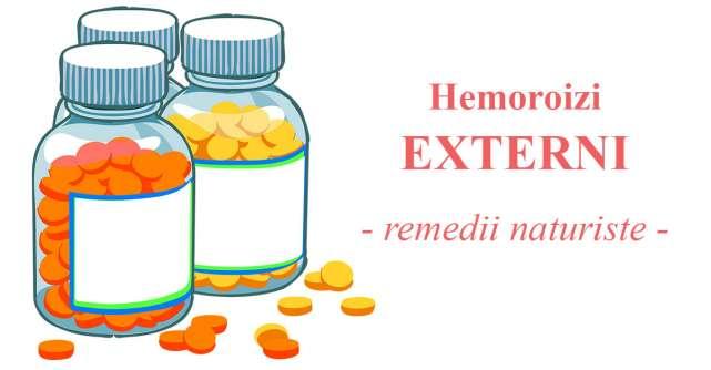 Hemoroizii EXTERNI: Remedii naturiste pentru ameliorarea simptomelor