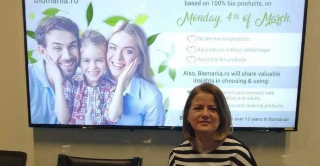 Nicoleta Micu, Biomania.ro: 2020 a adus creșteri de 15% pe segmentul de produse bio
