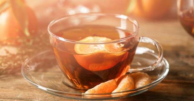 Efectele uimitoare ale ceaiului de coji de portocale