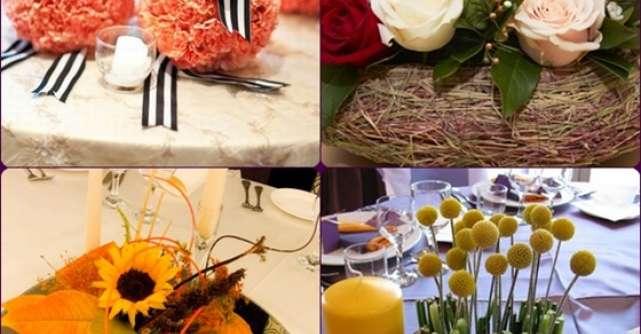 Decoratiuni florale in trend pentru nunta ta